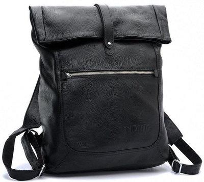 42245804db63 Рюкзак кожаный TIDING BAG T3058 Бесплатная доставка мужской рюкзак из натуральной  кожи