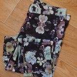Бронь Снизила цену Яркие цветочные лосины H&M М- размера
