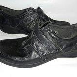Туфли кожаные footglove 37-38размер по стельке 24см кожаные