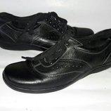 Туфли кожаные footglove 37-38размер кожа по стельке 24см