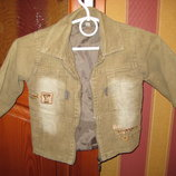 Детская курточка - пиджак 90 - 92см
