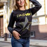 Женский модный свитшот 674