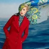 Стильное пальто Desigual,раз 40,Полиамид 17%, Шерсть 83%