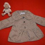 Детская демисезонная курточка ветровка для девочки 68