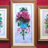 Триптих Античные розы