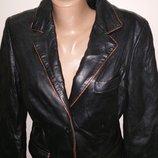 S-M куртка кожа Moonstone Made in Italy