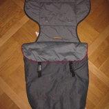 Фирменный чехол, конверт в коляску Mamas Papas под джинс