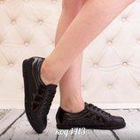 Женские кеды на шнурках