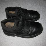 кожаные туфли Clarks, 17 см стелька, мальчику
