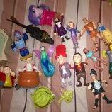 Большой выбор игрушек хеппи мил,кукла
