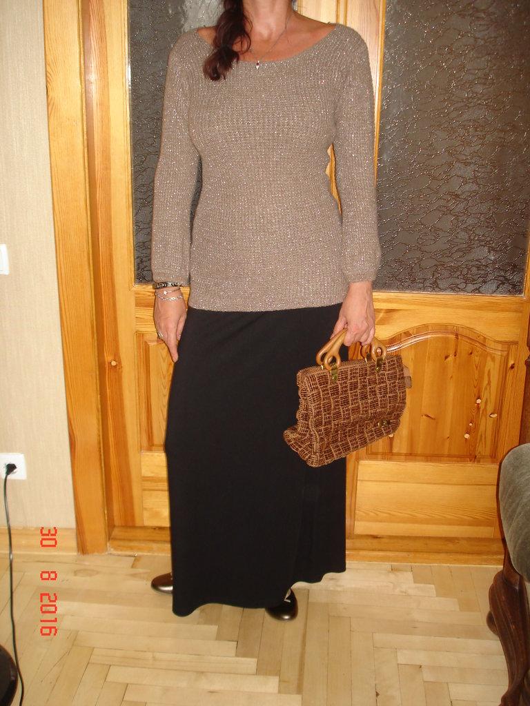 Женский свитер большой размер доставка