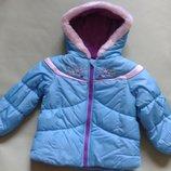 Теплая куртка London Fog для девочки 4-5лет курточка на флисе