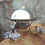 Подставка для красивой подачи шашлыка Садж - большая верхняя тарелка
