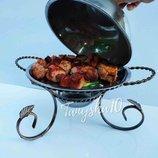 Подставка для красивой подачи шашлыка Садж мармит - большая верхняя тарелка