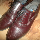 новые мужские кожаные туфли Германия