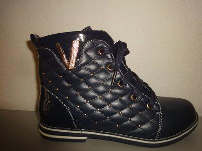 Утепленные деми ботинки 35 р. 22 Kellaifeng на девочку флисе, осень, весна, демі, дівчинку, Келлаиф