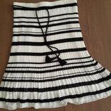 Раскошная элегантная юбка плесированая