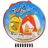 Палатка игровая домик 77 77 90см А999-24
