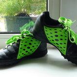 кроссовки НЕ Бутсы ADIDAS р.29 маломерят , европейский размер 11,5, 17 см