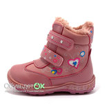 Зимняя детская обувь недорого. Ботинки GFB 26-31р. на девочку.