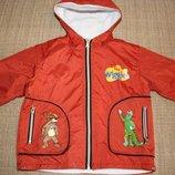Куртка фирменная демисезонная на флисе The Wiggles р 104