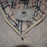 Стеганная куртка Burberry 2-3года