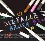 Брашпен BrushPen Brush кисть кисточка маркер ручка каллиграфия рисование канцтовары творчества брошп