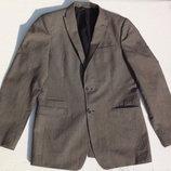 Mexx. Стильный приталенный пиджак. Лён и хлопок. 48 размера.