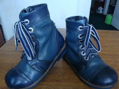 Деми ботинки ортопедические на флисе 18,5см.