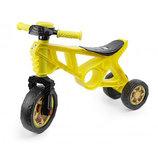 Беговел мотоцикл 2 трехколесный желтый Орион 171 велобег пластиковый