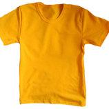 Желтая футболка все размеры