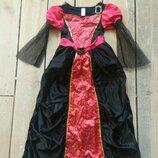 Карнавальное платье готическая королева на 10-11 лет продам купить