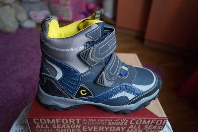 Термоботинки, ботинки для мальчика зимние, новые р. 30,31,32.33,34,35