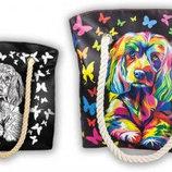 Набор для творчества My Color Bag сумка-раскраска Песик, котик, бабочки, пони, совы