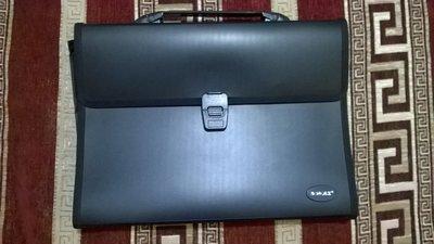 e612167db5e6 Портфель А4 папка органайзер для документов черный пластиковый для  канцелярии, канцтовары