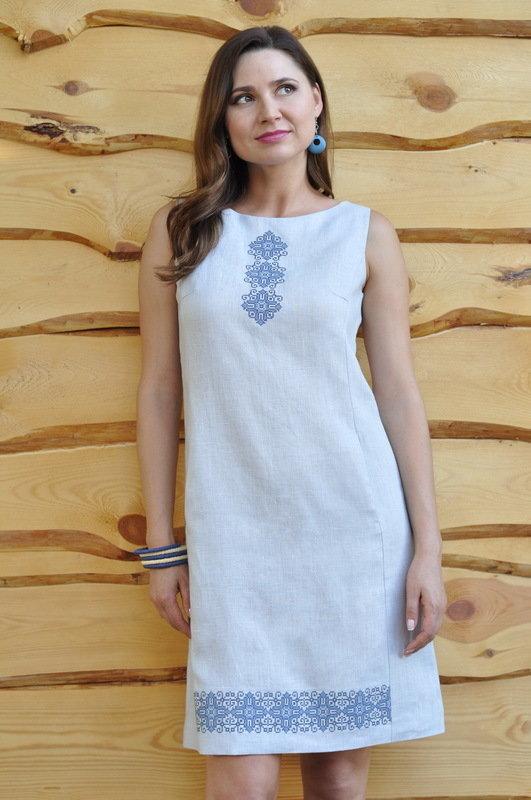 cf6afeed11345e Платье Вишита сукня: 1060 грн - повседневные платья в Львове, объявление  №11014511 Клубок (ранее Клумба)