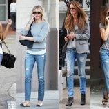 Новые голубые скинни рваные Indigo Jeans Хс-С