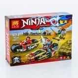 Конструктор Ninjago , Погоня на ниндзяциклах , 249 дет. Арт 79228