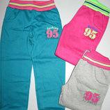 Утеплённые спортивные брюки для девочек,116-146р, Grace 6105