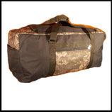 Сумка рюкзак 1224 пиксель т-серая 70 литров