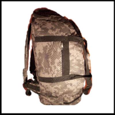 Сумка рюкзак 1233 Пиксель 70 литров
