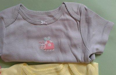 Бодик Carters для девочки 18-24мес с вышивкой Божья коровка
