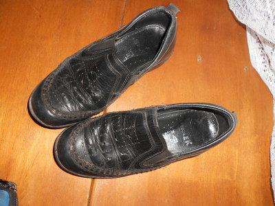Черные,кожаные туфли BARTEK ,в школу ,на сменку, размер 30