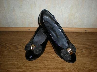 Туфли kraus & Co натуральная кожа лак на р.36