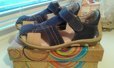 Босоножки сандалии натуральная кожа новые Чернигов Берегиня 20 см