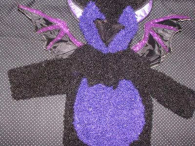 Карнавальный костюм на Хеллоуин.