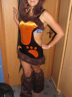 Карнавальный костюм Лисы взрослый.