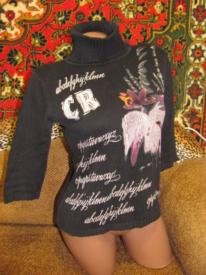 Интересный свитер американка, С-М
