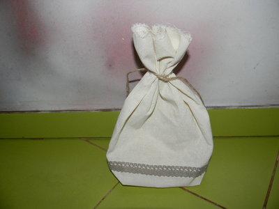 мешочек подарочный ляной новый