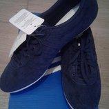Новые замшевые кроссовки Adidas Nuline W originals 38-39 р-ра